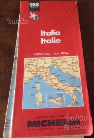 Cartina Stradale Michelin Italia.Italia Carta Stradale Michelin N 988 Vintage Collezionismo In Vendita A Roma