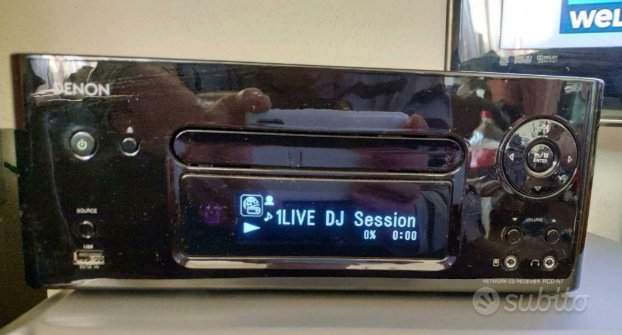 Denon RCD N7 - top hi fi & Ipod nano 5