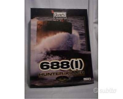 688(I) - HUNTER/KILLER PC GAME vintage