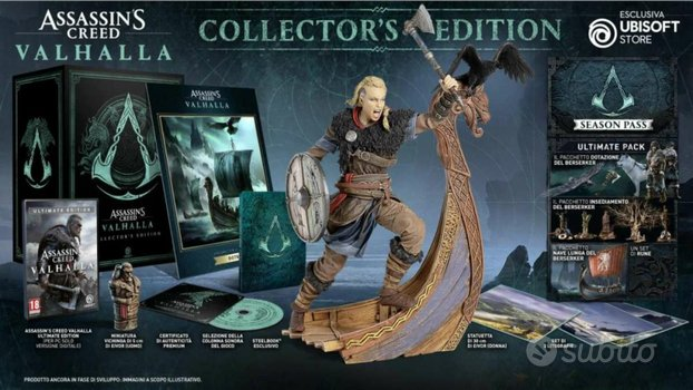 Assassin's creed valhalla ps4 collector edition