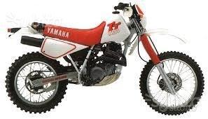 Ricambi yamaha tt600 92