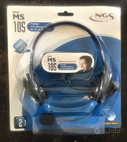Cuffie con microfono per PC NGS NUOVE
