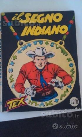 Tex con prezzo in copertina L. 200