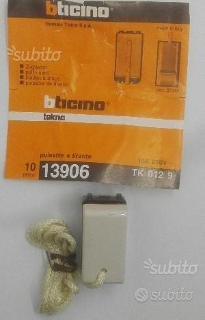 Pulsante a tirante TEKNE BTICINO 13906