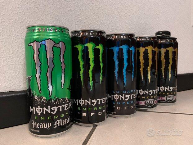 Collezione 600 lattine di monster Energy Drink