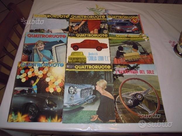 Varie riviste quattro ruote e due ruote