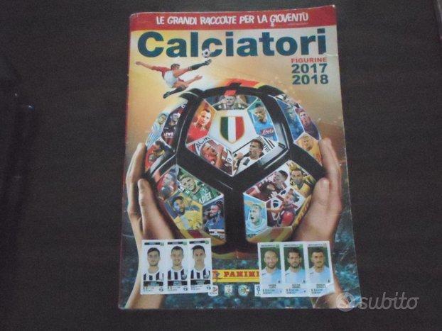 Album figurine calciatori 2017-18 panini