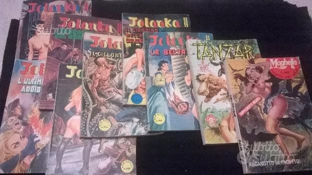Lotto 9 fumetti giganti Maghella,Tanzar e Jolanka