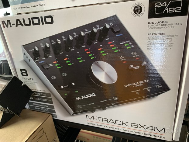 Scheda Audio 8x4M ( Nuova )