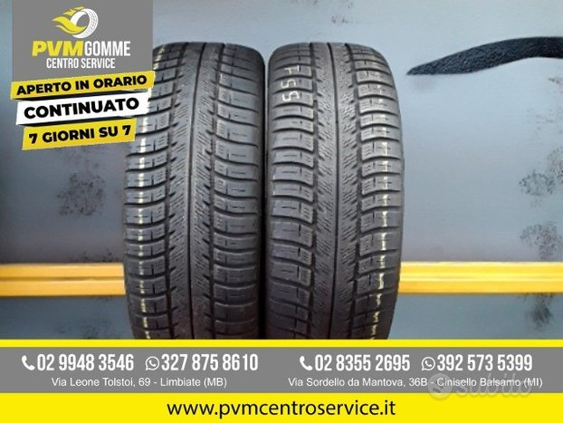 Coppia gomme 205 50 16 goodyear 4 stagioni