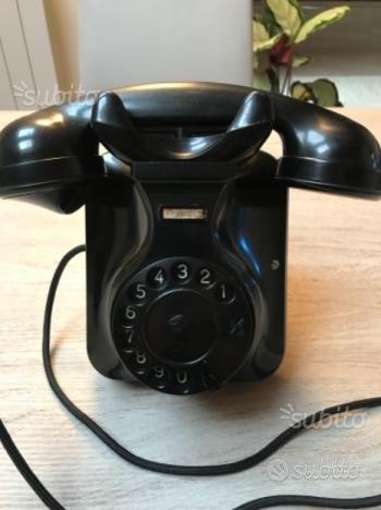 Telefono Face 51 standard disco Sip bachelite nera