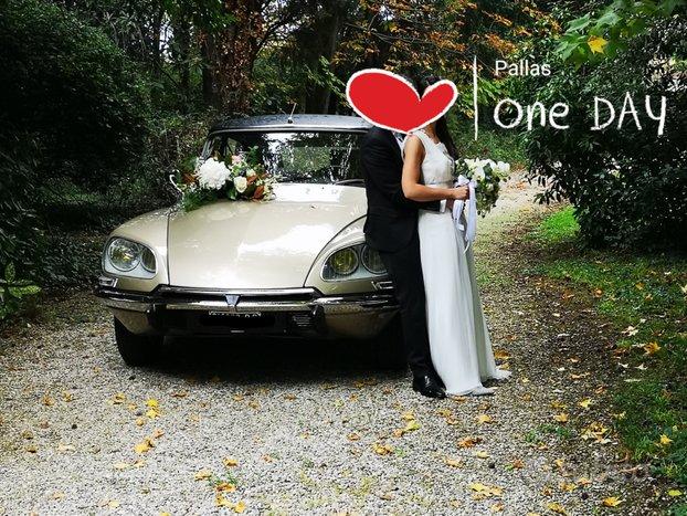 Noleggio Citroen DS,auto d'epoca, matrimoni