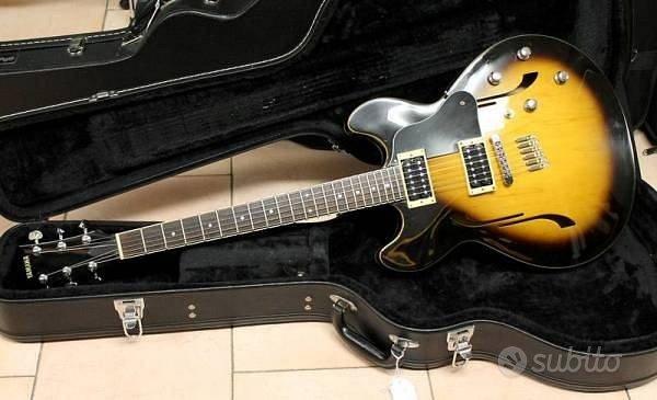 Yamaha sa-500 - chitarra semi-hollow body + case