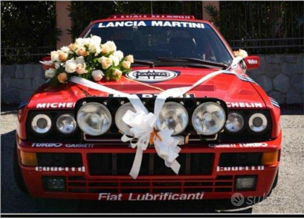 Per matrimoni e cerimonie Deltone Evo Lancia Delta