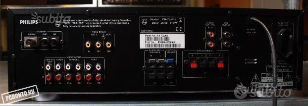 Philips FR 732 Dolby Prologic AV Receiver