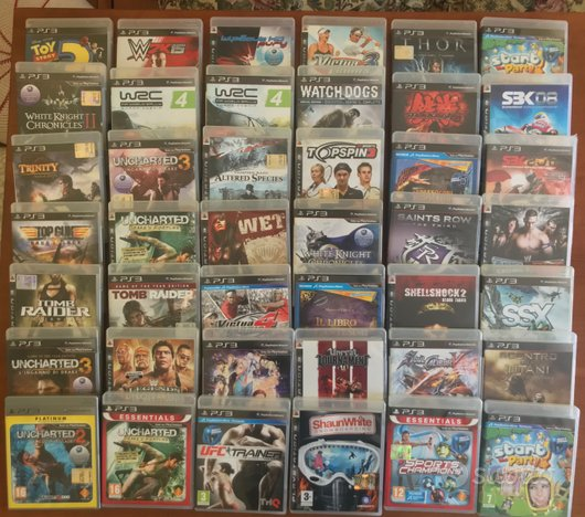 Lotto 74 videogiochi Sony playstation 3 ps3 PQRS