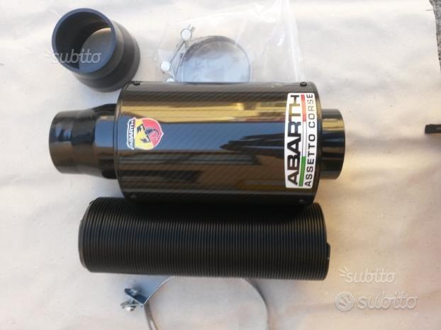 Kit aspirazione abarth carbonio 500 punto tuning