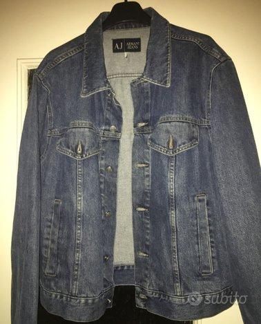 Giubbino jeans armani uomo