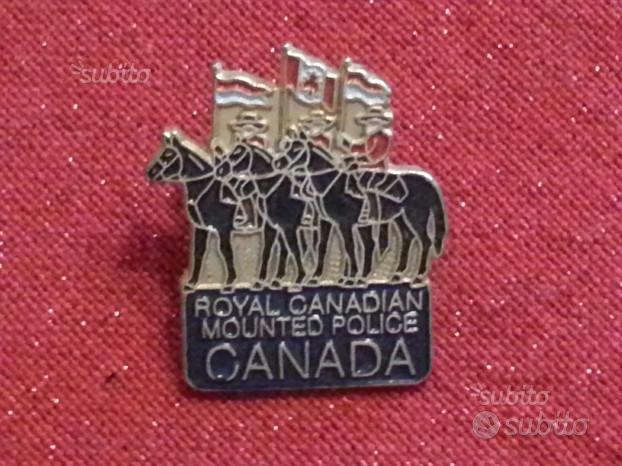 Spilla Royal Canadian Mounted Police