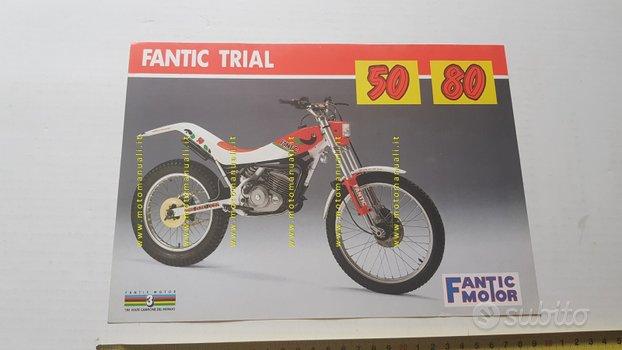 Fantic Motor Trial 50 - 80 1990 depliant originale
