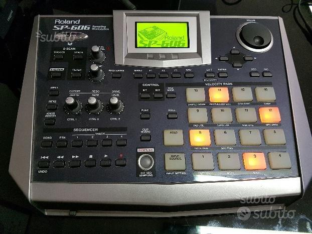 Campionatore Roland SP-606 come nuovo con software