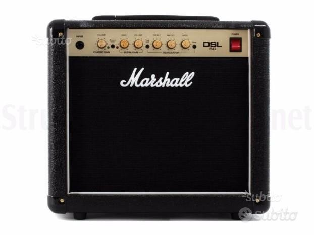 Amplificatore Valvolare MARSHALL DSL 5C