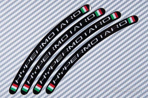 Stickers bordo cerchioni DUCATI HYPERMOTARD 2D
