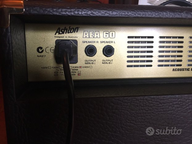 Amplificatore Ashton vintage