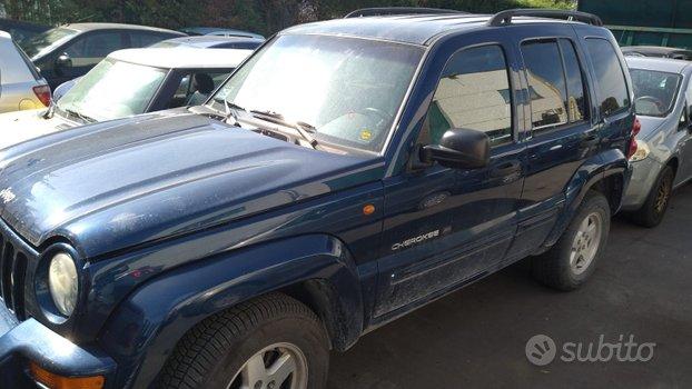 Pezzi di ricambio Jeep Cherokee anno 2002