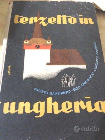 Terzetto in ungheria Giambirasio 1943 ed Orobiche