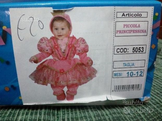 Vestito di Carnevale Piccola Principessina
