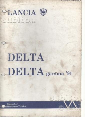 Manuale di Officina Lancia Delta 2WD gamma '91 hf