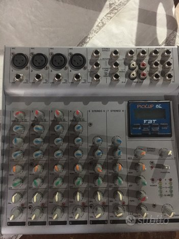 Mixer FBT Pickup 8E
