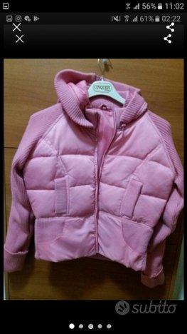 Piumino giacca rosa nuovissimo