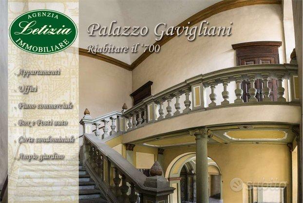 Palazzo Gavigliani - Riabitare il 1700