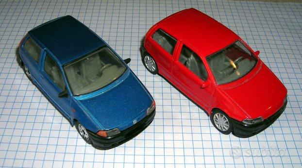Fiat Punto Burago 1:43 elaborate
