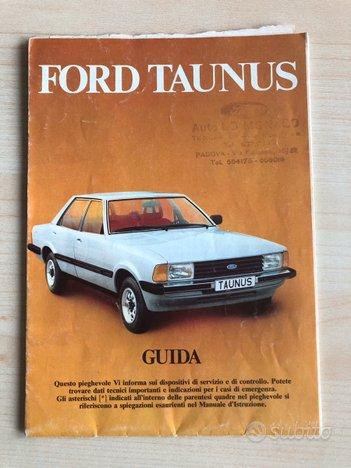 Guida pieghevole istruzioni originale Ford TAUNUS