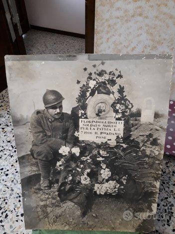 Grande foto soldato ww1