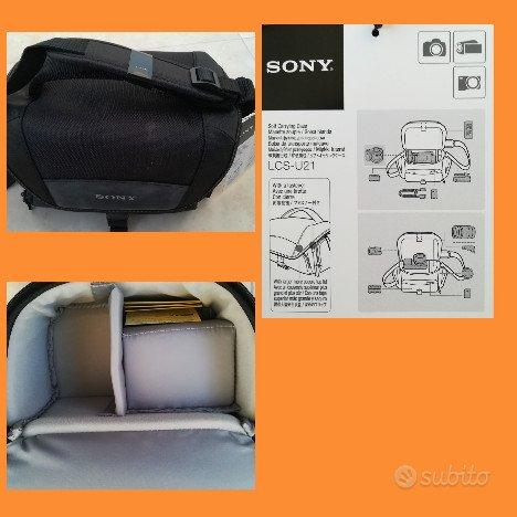 Borsa Tracolla Sony LCS-U21 Multiscomparto Nera Vi