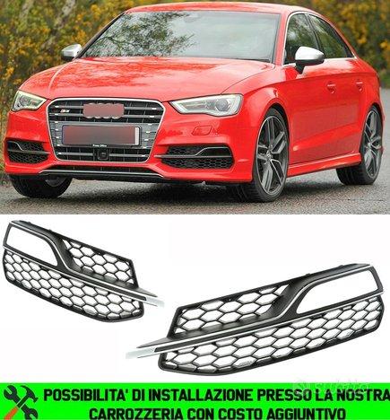 Audi a3 8v 2012-2016 griglie fendinebbia sline rs3