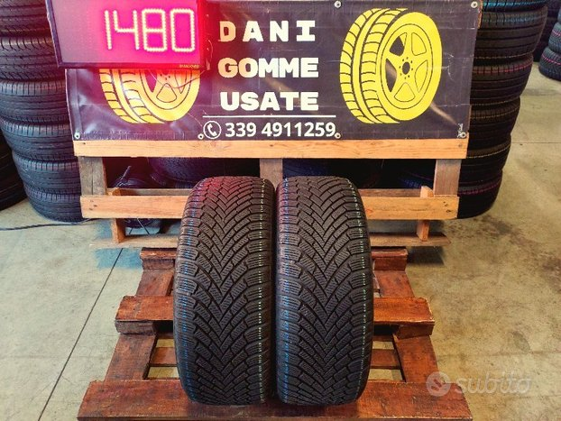 2 Gomme Usate 225 45 17 INVERNALI 90% CONTINENTAL