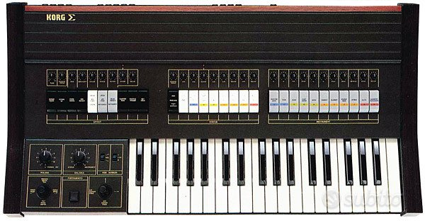 Synth Vintage Korg Sigma anno 1979