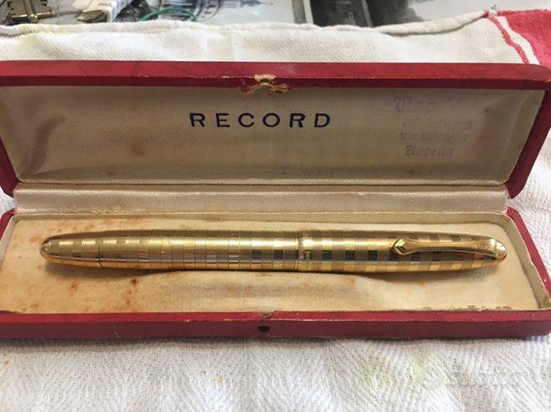 Penna stilografica anno 1950 oro