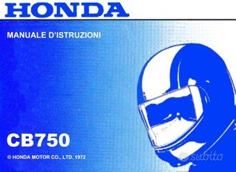 Honda Moto Epoca Libretto Manuale Catalogo vari