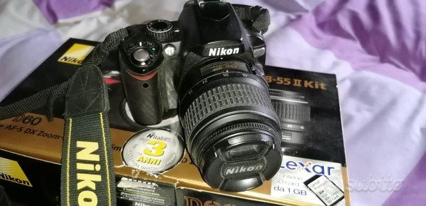 Nikon d60 + 18/55