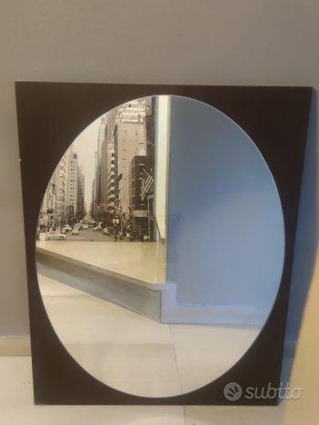 Specchio color Wengè