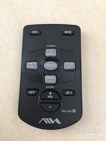 Aiwa rm-z304 telecomando originale per autoradio