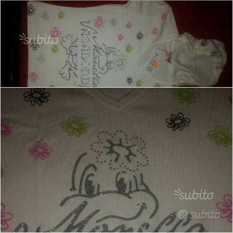 Maglietta da donna ragazza Monella Vagabonda nuovo