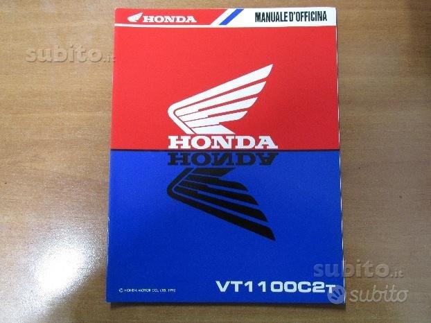 Supplemento manuale officina Honda VT1100 C2T