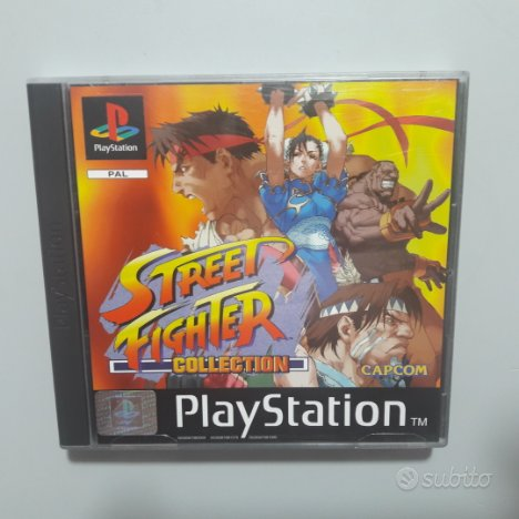 Gioco playstation 1 - street fighter collection